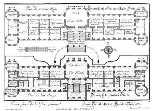 belvedere ground and first plan floor plans castles
