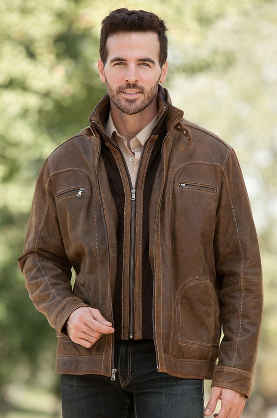 Black Leather Jackets For Men 2017   Outdoor Jacket - Part 417