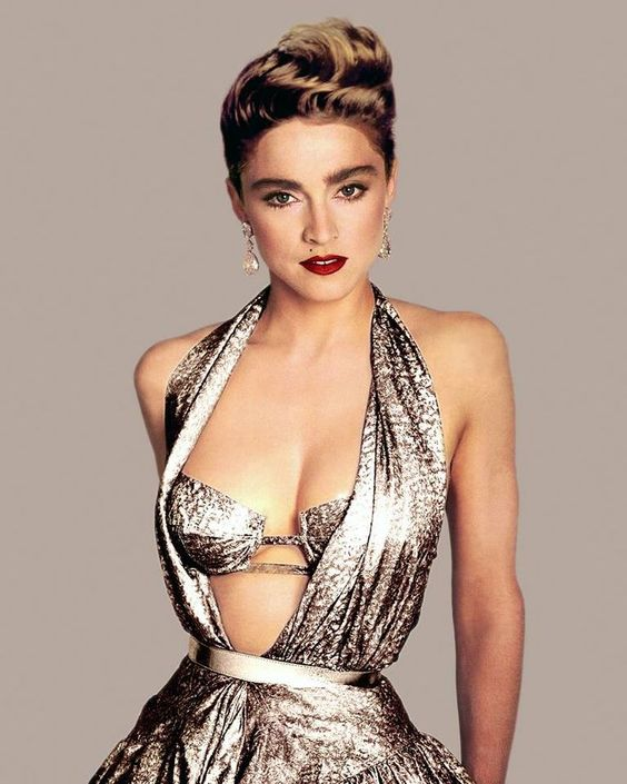 Madonna 80's style.....