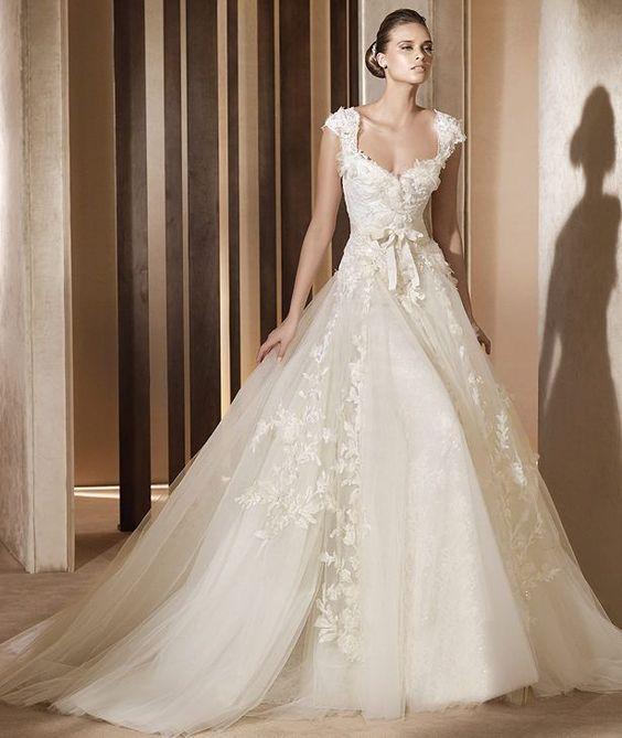 Enchanted Forest Wedding Dress | Bridal Krtsy