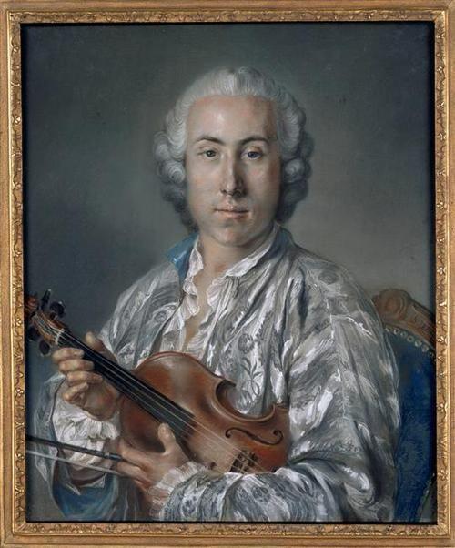 Jacques Gosseaume (1742-1817), violonist, 1763 by Claude Bornet (1733-1804):