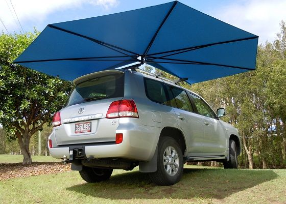Portable Vehicle Shade Clevershade 4wd Awning For Australian Summer In 2020 Vehicles Car Shade Car Protection