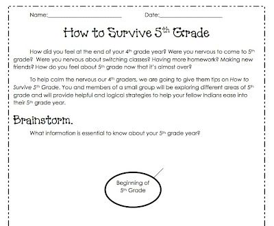 How To Writing Plan for 5th Grade
