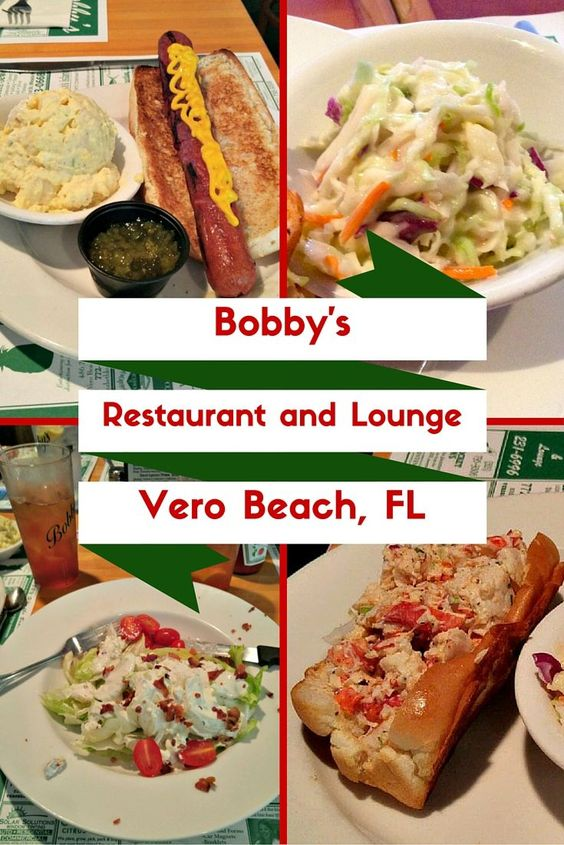 Bobby's is a local favorite for Vero Beachers located right on Ocean Blvd. My book club loves meeting there!