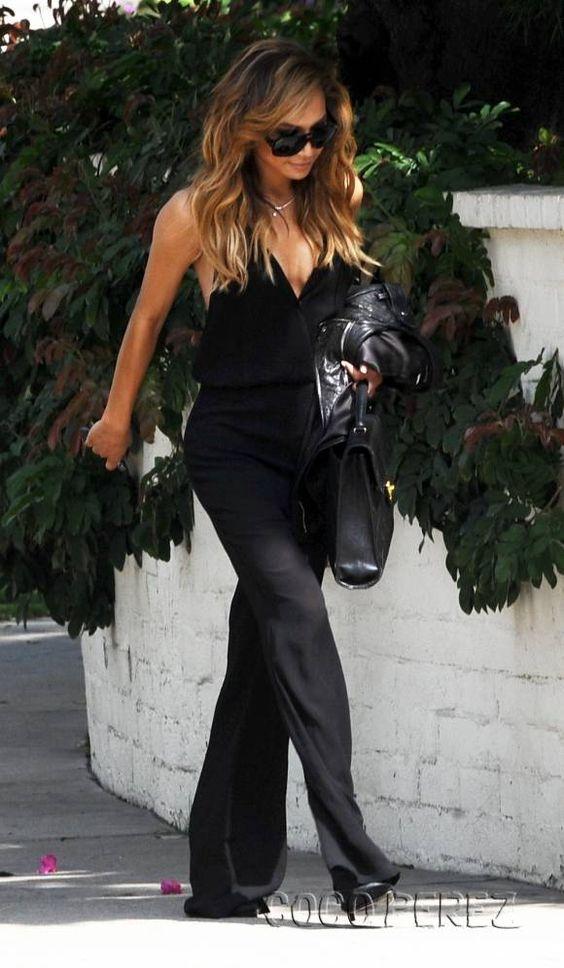 Lace Backless Black Jumpsuit | Pariscoming