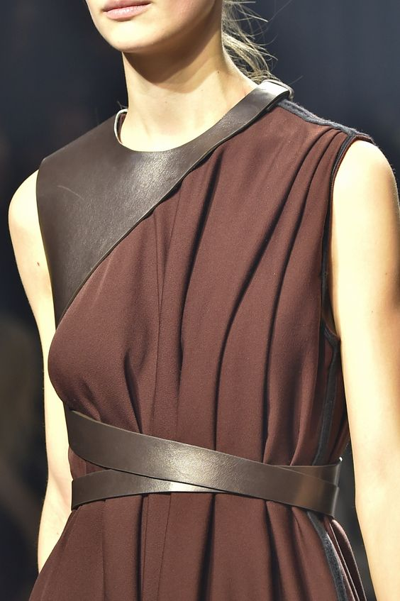 Harness belts spotted at @LANVINofficial #PFW #AW15