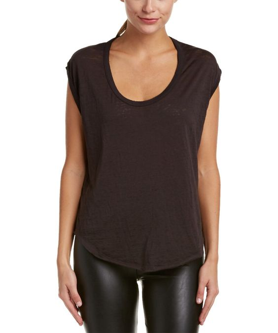 CHASER Chaser Jersey Scoop Top'. #chaser #cloth #sweaters