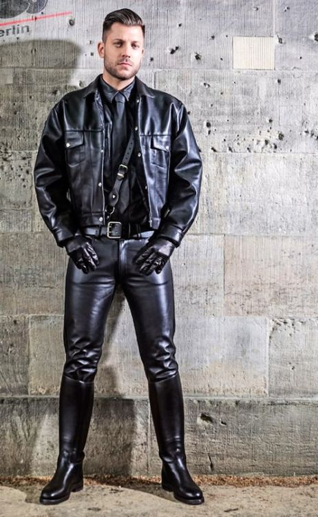 Berlin Leather And Boys On Pinterest