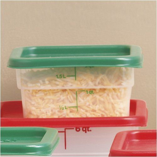 Cambro 2qt Square Container Set Of 3 With Lids Click For More Special Deals Decor Homedecor Decorideas Homedecorations Cambro Dining Storage Container Set