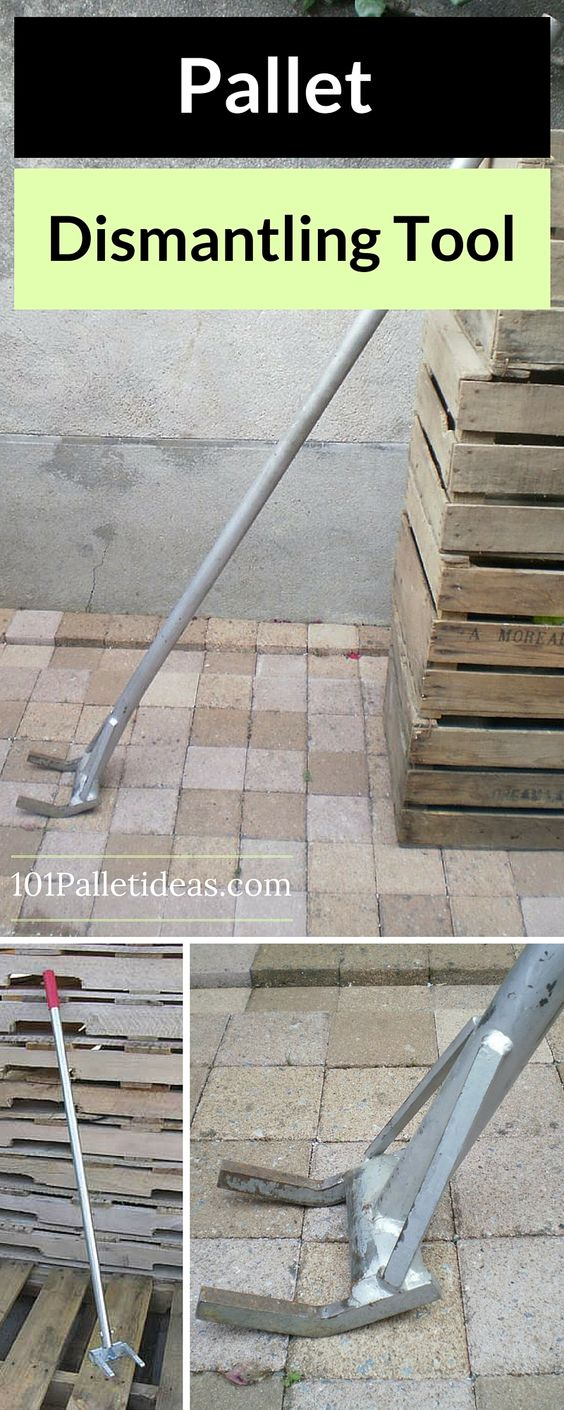 Pallet Breaker - Pallet Dismantling Tool - how to dismantle a #pallet ?