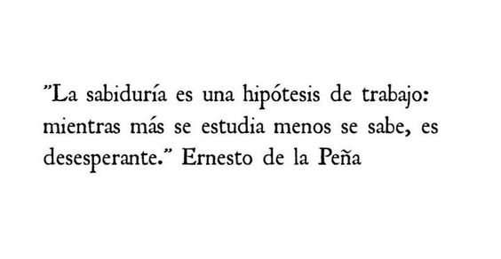 Ernesto de la Peña