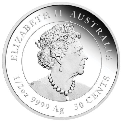 1 2 Oz 9999 Ag 50 Cents Australian Lunar Series Iii 2020 Year Of The Mouse Silver Proof Coins The Perth Mint In 2020 Silver Coins Coins Proof Coins