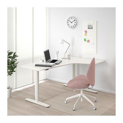 Bekant Corner Desk Right Sit Stand White 63x43 1 4 Ikea Ikea Bekant Ikea Bekant Desk Corner Desk