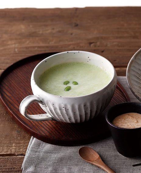 枝豆と豆乳のスープ