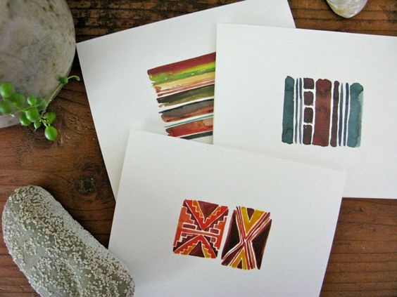 Watercolor Geometrics :: by Shayna Roosevelt #myownwork