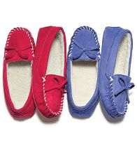 Classic Comfortable Moccasins Slipper ~ order at www.youravon.com/atodd