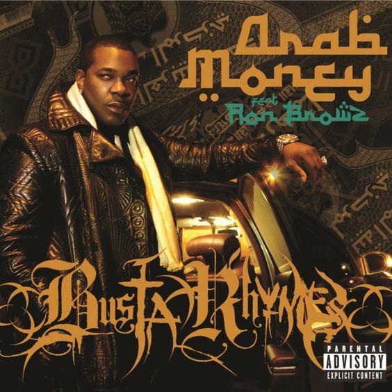 Busta Rhymes, Ron Brownz – Arab Money (single cover art)