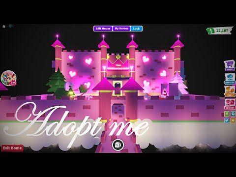 Adopt Me House Tour Princess Castle Glitch Build Ideas With Madam Madhouse Youtube Princess Castle Adopt Idea My Home Design