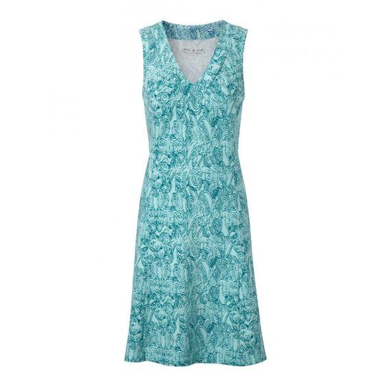Royal Robbins Essential Henna Dress Aqua £50