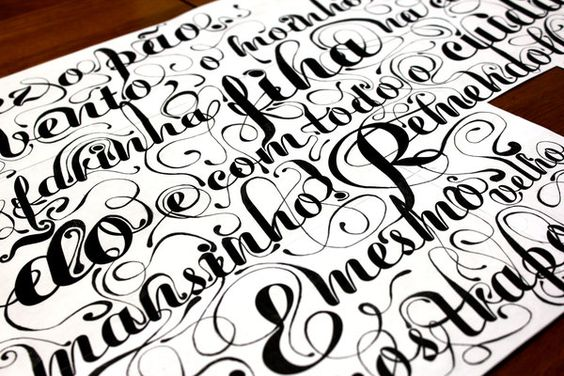 #type #calligraphy #lettering