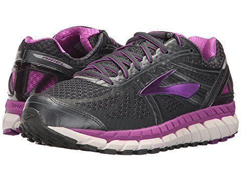 Zappos Com Brooks Ariel 16 Size 9 Wide Anthracite Purple Cactus Flower Primer Grey 117 Ap Womens Running Shoes Best Walking Shoes Stability Running Shoes