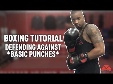 How To Defend In Boxing Youtube Boxing Techniques Boxing Training Workout Martial Arts Workout