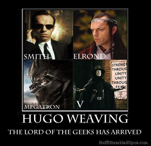 Geekery Hugo Weaving V For Vendetta Memes