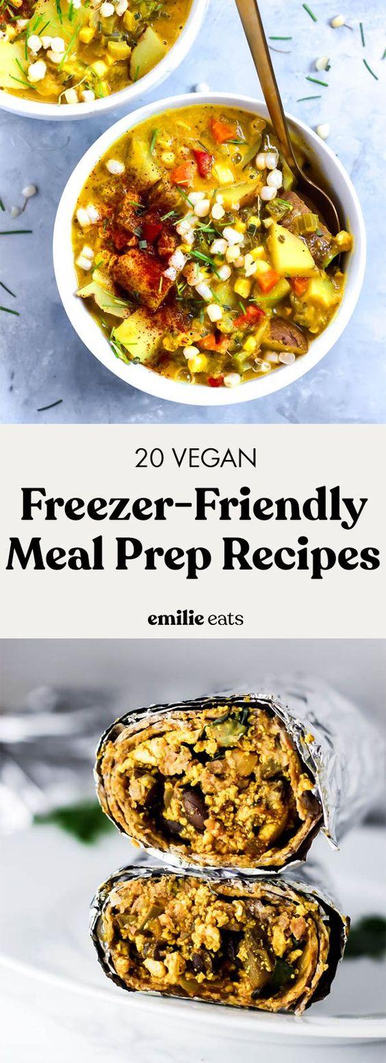20 Freezer-Friendly Meal Prep Recipes – Emilie Eats