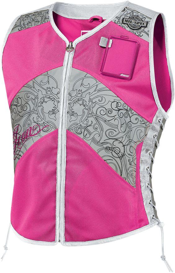 Mil-spec Corset - Mil-spec Pink | safety vest for motorcycle ...