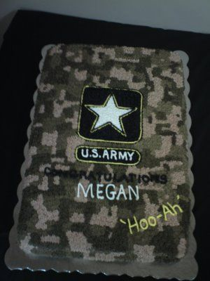 Creatively Designed Cakes: Go Army  Love the colors and digital camo