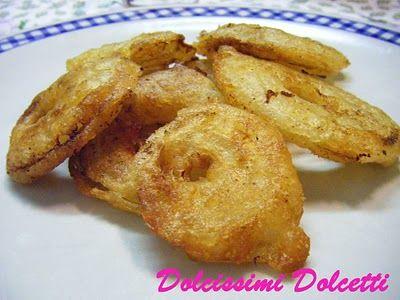Anelli di cipolla fritti: Dolcissimi Dolcetti, Cipolla Fritti
