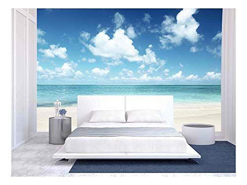 Sand Of Beach Caribbean Sea Large Wall Murals Wall Murals Removable Wall Murals