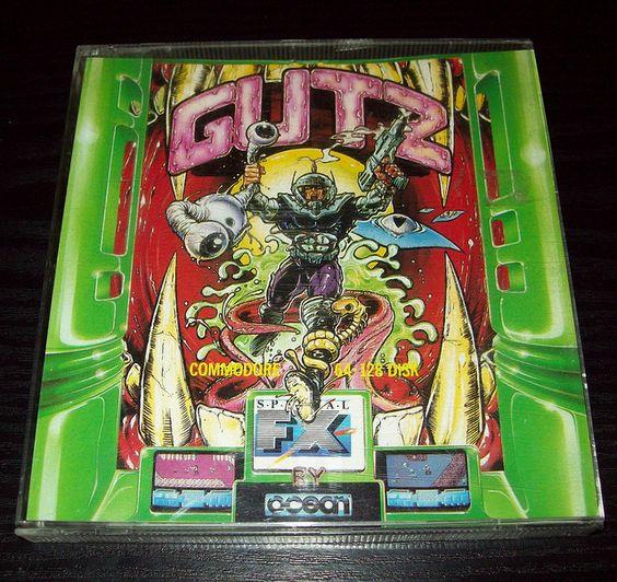 Gutz (1988), C64 disk