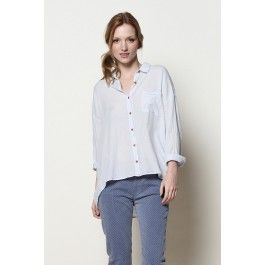 chemise Patty ciel @ DES PETITS HAUTS