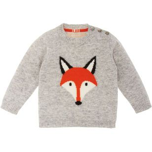Fox Sweater From Barney's New York