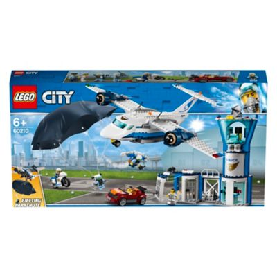 Lego City Police 60210 Sky Police Air Base Toys Character George In 2020 Lego City Police Lego City Lego