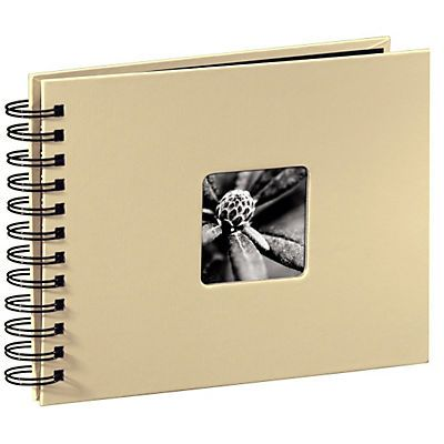 Hama Spiralalbum 24 x 17 cm, 50 Seiten, Fotobuch Album »Spiral Photoalbum z. Einkleben« im Universal Online Shop