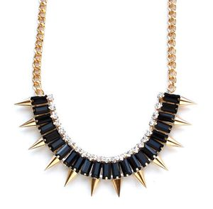 Shut Up I Love This Gems & Spike Necklace on sale up to 70% off - Garmentory