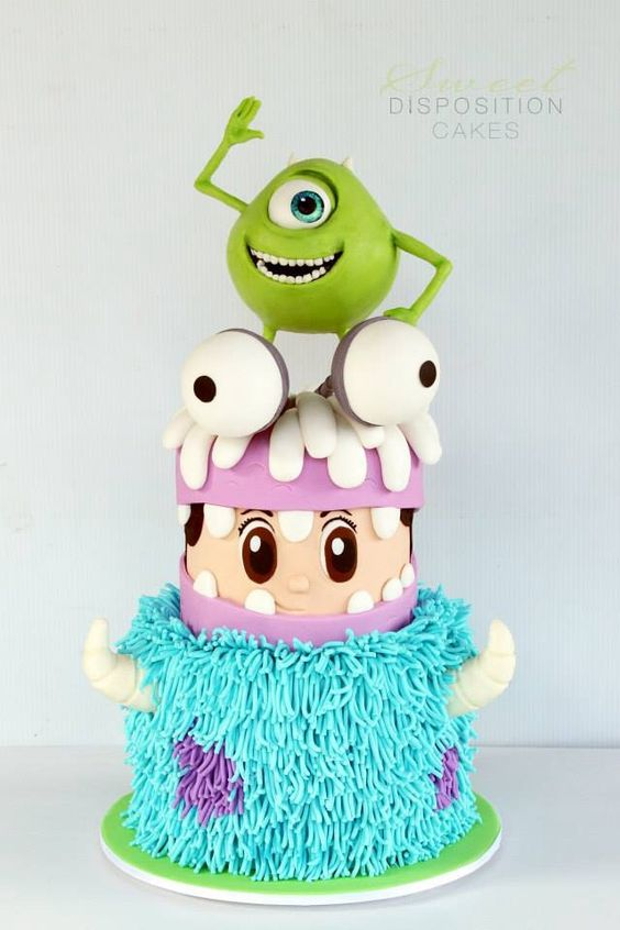 Monster's Inc Cake - For all your cake decorating supplies, please visit…
