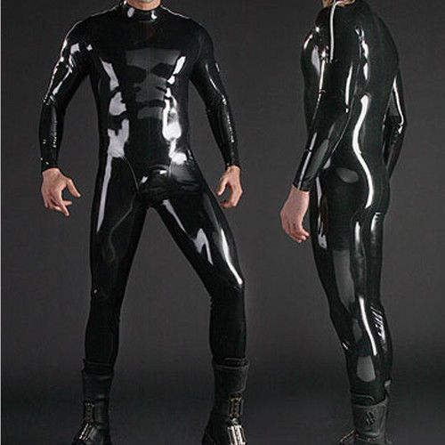 Guide to wet look lingerie latex rubber clothing for men