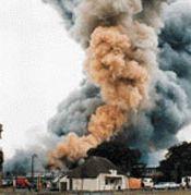 verbrandingsgassen: bij een goede verbranding van aardgas worden het aardgas en de zuurstof bijna voor 100% omgezet in de verbrandingsgassen.