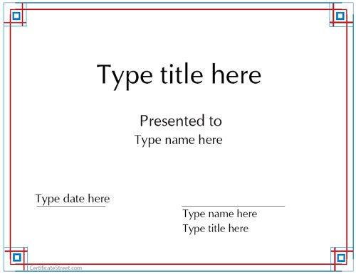 Motivation - Certificat Félicitationspdf - Google Drive - blank award templates