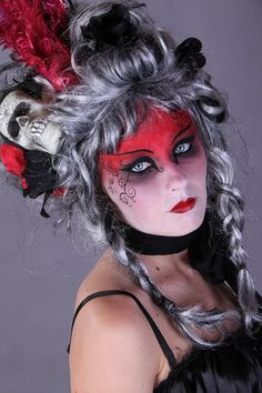 day of the dead wigs - Google Search