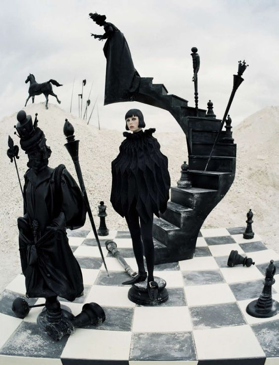 Edie Campbell by Tim Walker fore Vogue Italia December 2015 7