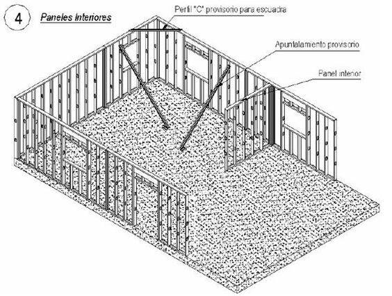 Steel frame steel and frames on pinterest - Acero construction ...