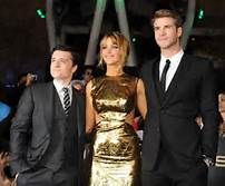 the hunger games katniss, gale and peeta - Bing Images