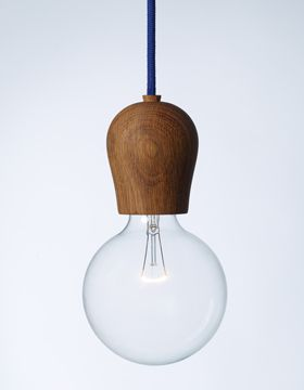 nordic tales scandinavian light fixture - cords come in mult diff colors and 3 colors of wood.