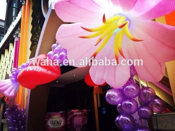 Decoration Inflatable Flowers 1.5m