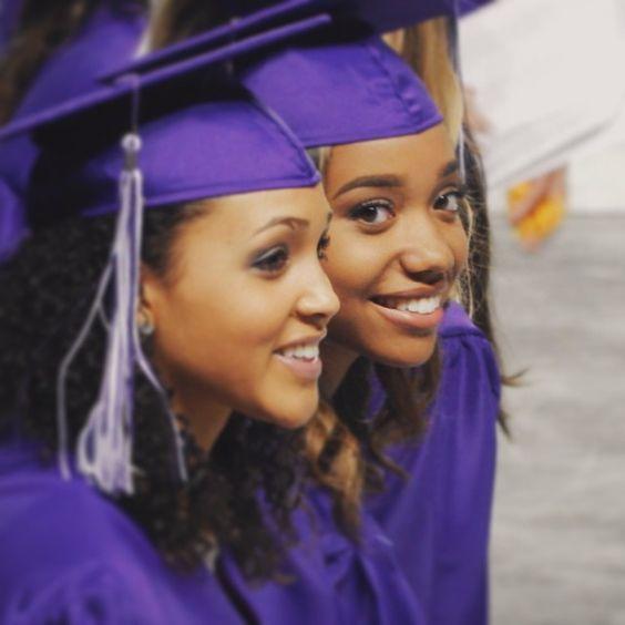 late tbt to graduation. prez + vp