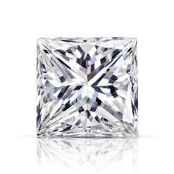 Princess-cut diamond